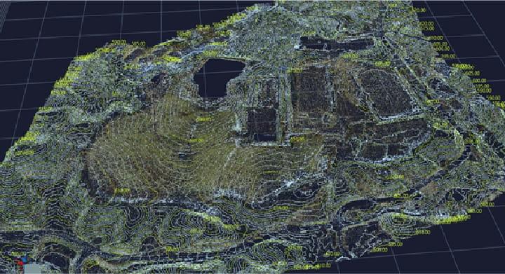 UAV(ドローン)レーザスキャナ測量事業