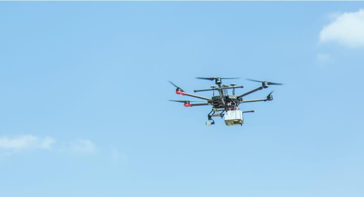 UAV(ドローン)空撮事業