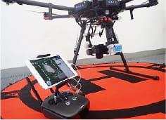 DJI Matrice600 Pro GNSSシンクロ撮影システム『S.LOGGER』